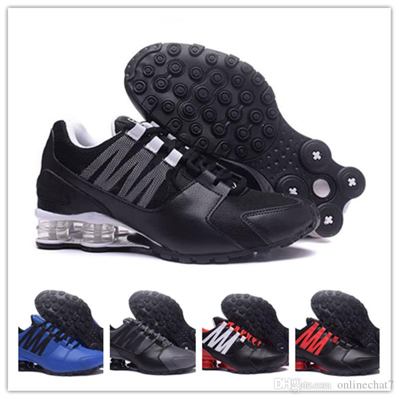 388708b65f18 Original Shox Avenue 802 803 Men Designer Shoes Chaussures Homme Shox Men  Designer Sneakers Airs Man Basketball Shoes Sizes Eur 40 46 Shoes Sports  Spikes ...