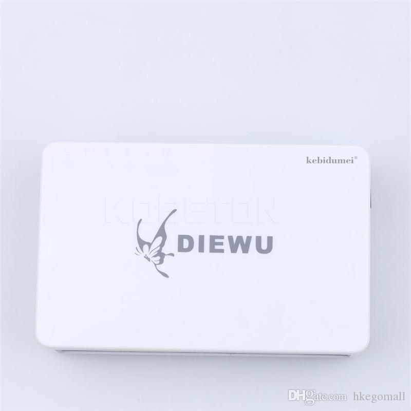 Kebidumei Super Quality High Performance RJ45 5 Ports 10/100Mbps Ethernet Network Switch Hub Mini Desktop Smart Adapter for PC