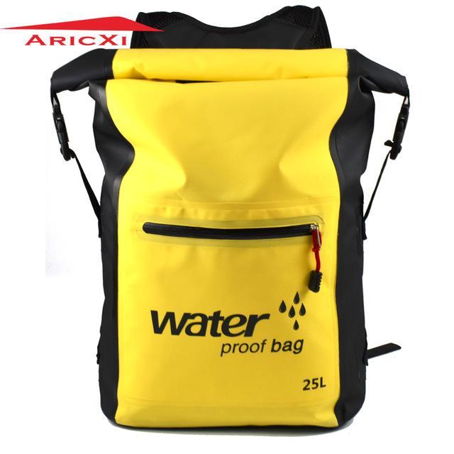 65ce7c08d64b 2019 Aricxi 25L 500D PVC Tarp Trekking Drifting Seal Rafting Bag Double  Straps Ocean Pack Waterproof Bag Dry Outdoor From Annuum