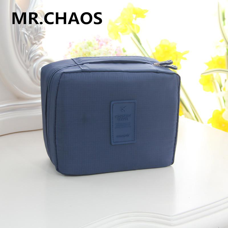 0b0ea1c4e4 2019 Cosmetic Bag Luggage Organizer Bags For Women 2018 Nail Polish Cute  Zipper Pouch Travel Large Professio Makeup Bag Men Toiletry From Koolless