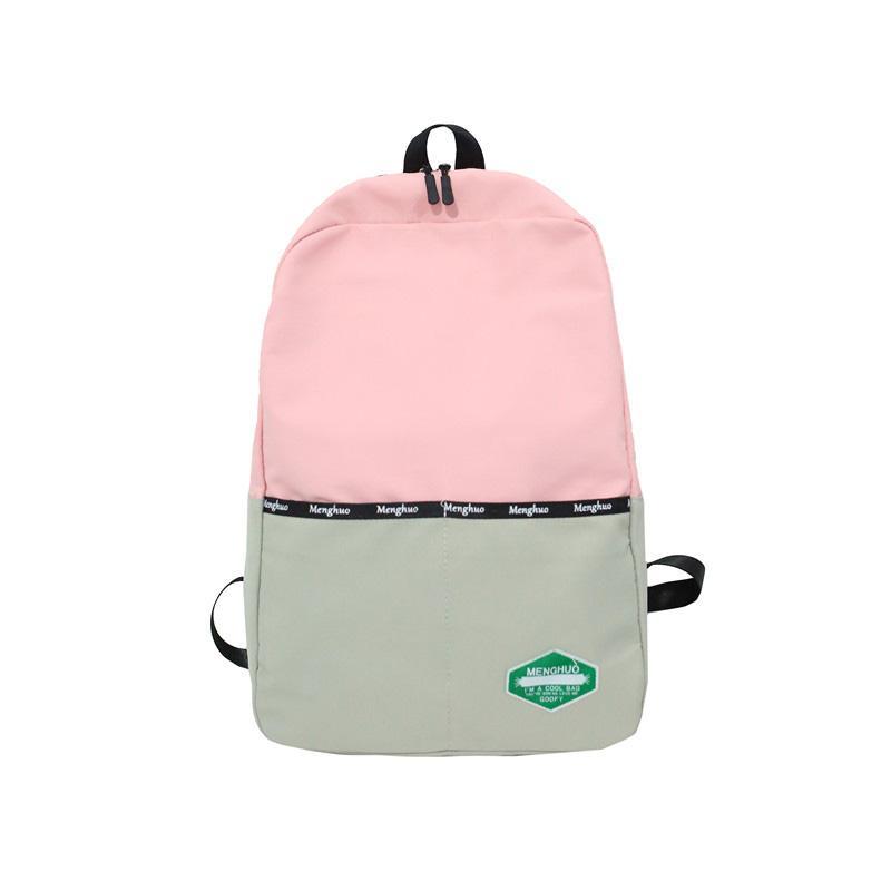 a8803e92fe Pink Back Bags For Girls College Backpacks Capacity Oxford Shoulder Bags  Women Rucksack Brand Mochilas Menina Lady Backbag Woman Backpack Brands  Rucksack ...