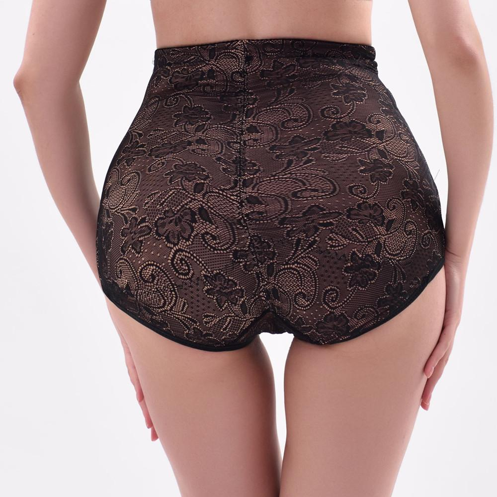 2019 Sponge Padded Panties High Waist Lace Body Shaping Pants Briefs  Seamless Bottom Slim Waist Panties Buttocks Push Up Underwear From  Queensski f75ae2d11