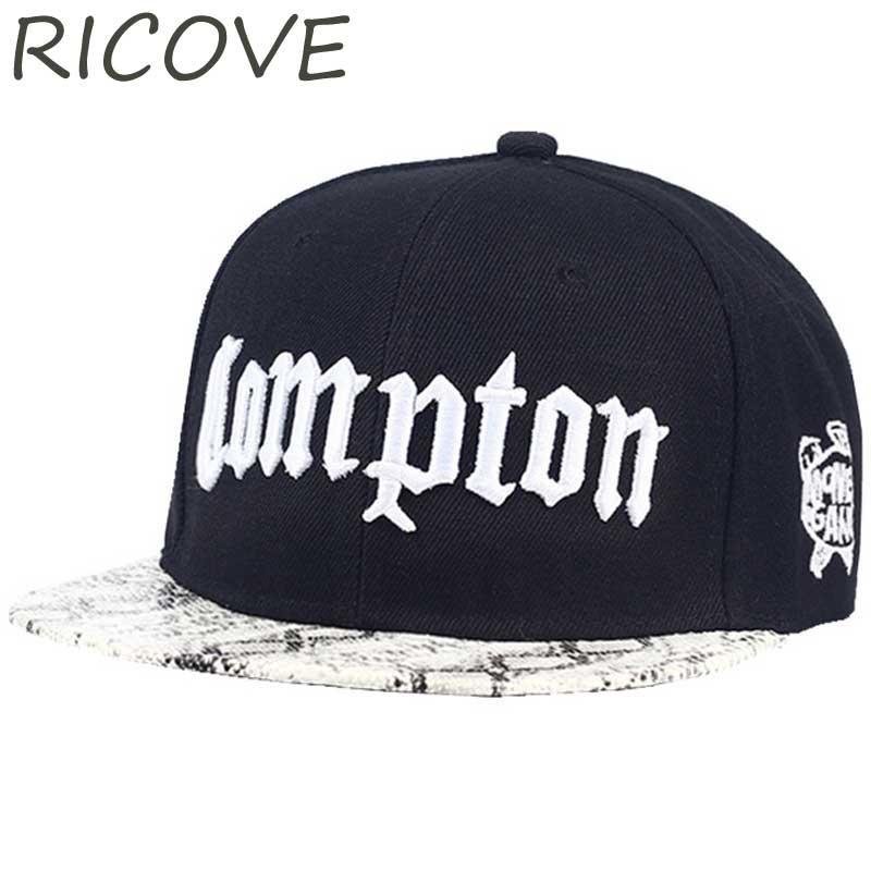 13beeee72bd Compton Rapper Baseball Cap Summer Snapback Hip Hop Hats Street Flat Hat  For Men Women Letter Embroidery Snapback Caps Casual Trucker Hat 59fifty  From ...