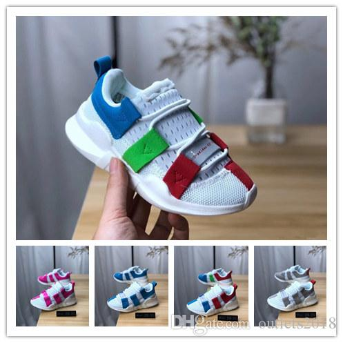 986af65a7 Compre Zapatos Infantiles Eqt Para Niños Primeknit Zapatos Deportivos De  Alta Calidad Para Niños Y Niñas Zapatos Deportivos Zapatillas Tamaño 28 35  A  31.03 ...