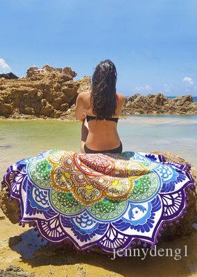 Proveedor de China al por mayor turcos impresión personalizada poliéster playa toalla clips