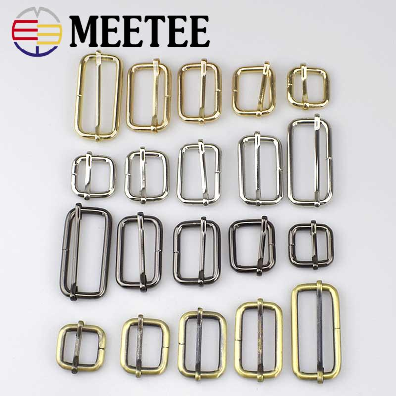 Apparel Sewing & Fabric Arts,crafts & Sewing 10pcs Pack Silver Metal Slides Tri-glides Wire-formed Roller Pin Buckles Strap Slider Adjuster Backpack Webbing Diy Accessories