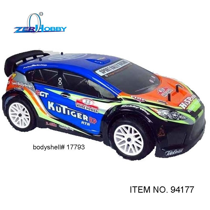 HSP RACING KUTIGER 94177 1/10 SCALE NITRO POWERED 4WD OFF ROAD SPORT RALLY RACING RC CAR RTR HIGH SPEED TW SH 18CXP ENGINE
