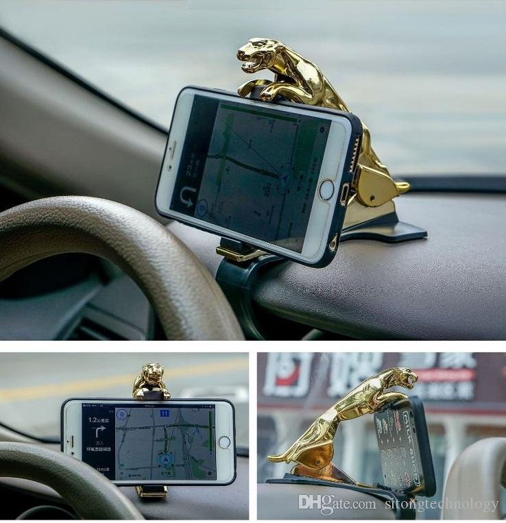 Creative Magnetic Phone Car Mount, Cell Phone Holder Universal Dash Mount Hands For ios Android Xiaomi Huawei Iphone X 4S 5S 678