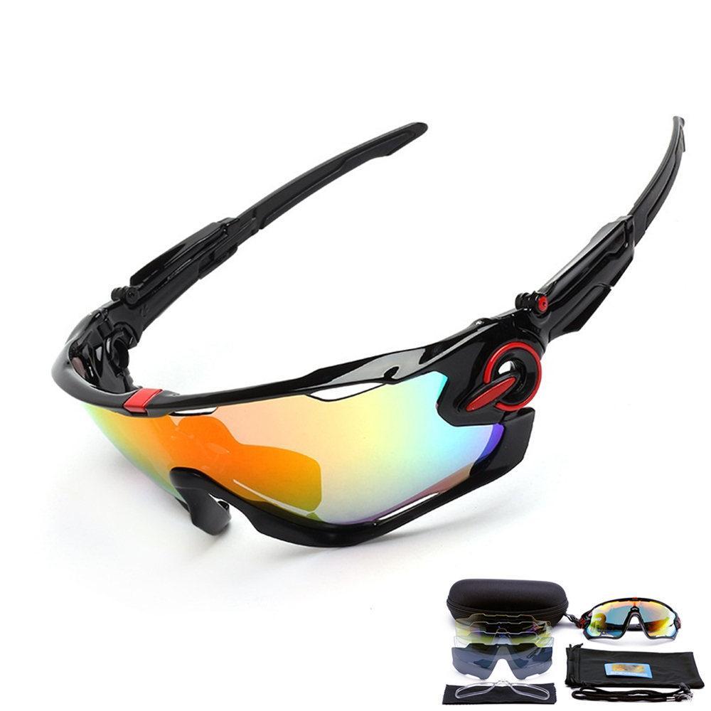 68a828ba5f381 Compre Polarized 5 Lens Ciclismo Eyewear MTB Bicicleta Óculos De Sol Ciclismo  Óculos De Sol Mountain Bike Óculos De Proteção Gafas De Ciclismo De  Lvmangguo, ...