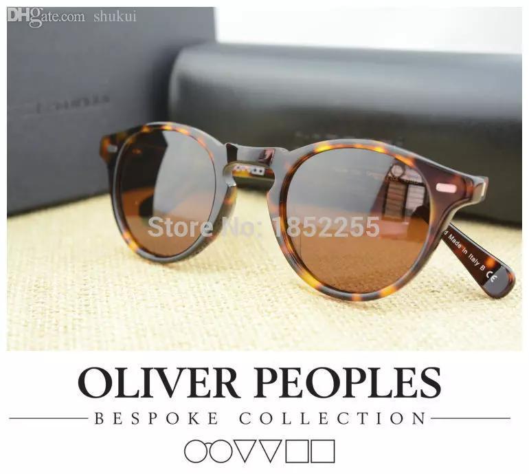 0390d2d6f Wholesale NEW 2018Vintage Mens And Womens Sunglasses Oliver Peoples  Sunglasses Ov5186 Polarized Sunglasses Retro Designer Men Brand Glass  Prescription ...