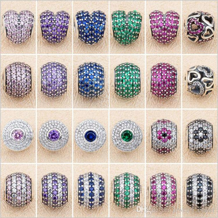 Jewelry & Accessories Beads & Jewelry Making 2019 Summer Collection 925 Sterling Silver Beads Handbag Charms With Pink And Clear Cz Fits Original Pandora Charm Bracelet Diy Spare No Cost At Any Cost