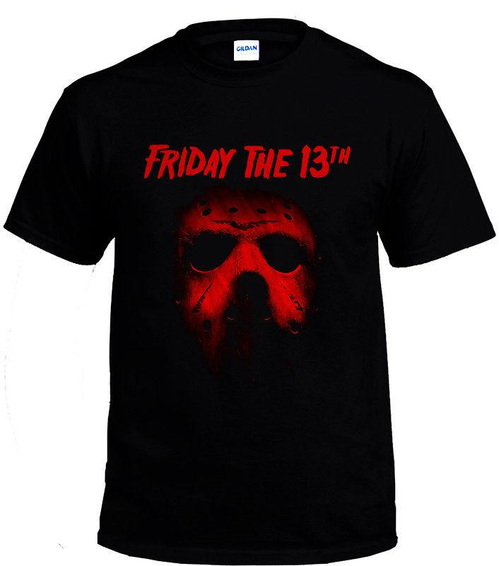 ef6947a97f4040 Friday The 13th Black Men T Shirt Size S - 3xl T Shirt Men Tees Brand  Clothing Funny Men Summer Style O - Neck Stylish Online with  12.99 Piece  on ...