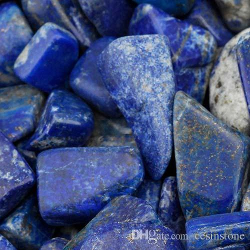 100g Lapis Lazuli Stone Quartz Gravel New crystal Decorate Aquarium Fish Tank Tumbled Crushed Irregular Shaped Chips adorn Healing Rough big