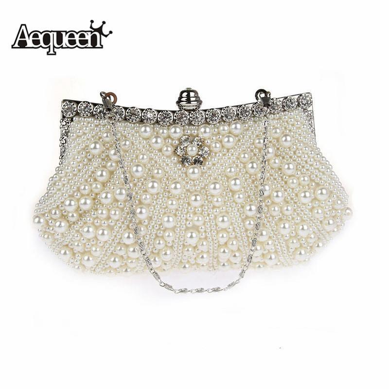Taschen Hochzeit & Besondere Anlässe Symbol Der Marke Luxus Abendtasche Handtasche Perlen Kristall Tasche Schultertasche Brauttasche
