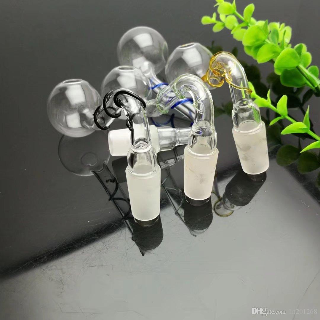 Vidro caçarola grosso de vidro bongs Pipes queimador de óleo de água vidro plataformas petrolíferas fumadores Rigs