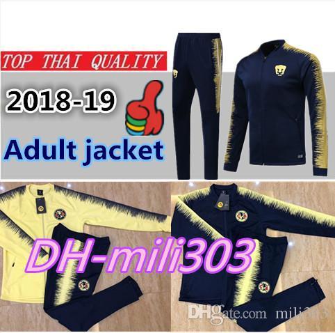 aedbc78b9 2018 2019 Mexico Club America Jacket Training Suit 18 19 GUERRON ...