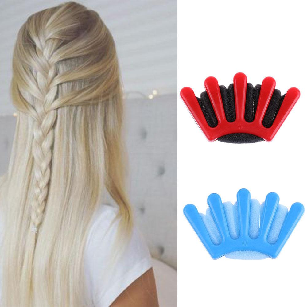 Großhandel 2 Farben Easy Haar Flechter Braid Dame Französisch Haar