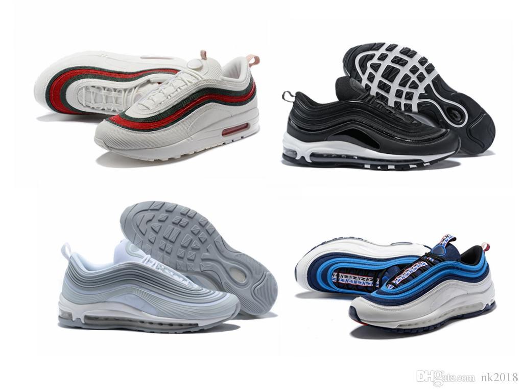 san francisco 1b297 678b5 Acheter Nike Air Dhl Classic Style 97 Rouge Poudre Noire Noire Noire  Chaussures fc82f6