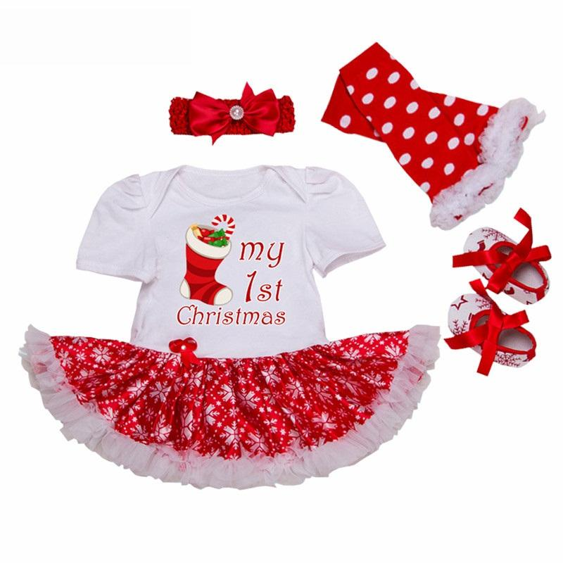 7470d3bfec3d 2019 Uniqbnb Newborn Christmas Rompers Infant Baby Girl Clothes Short Sleeve  Cotton Snowflake Print Clothing My First Christmas From Fragranter, ...