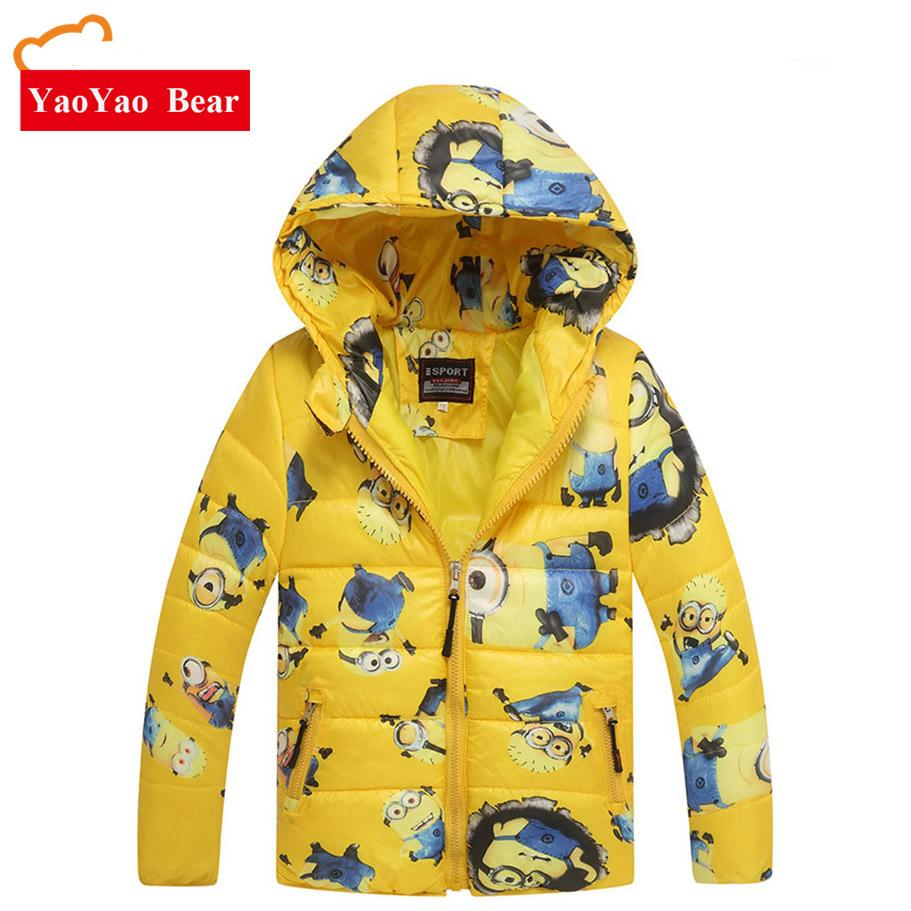 508d0b969 Boy Coats Hooded High Quality Character Winter Boy Kids Jackets Coat ...