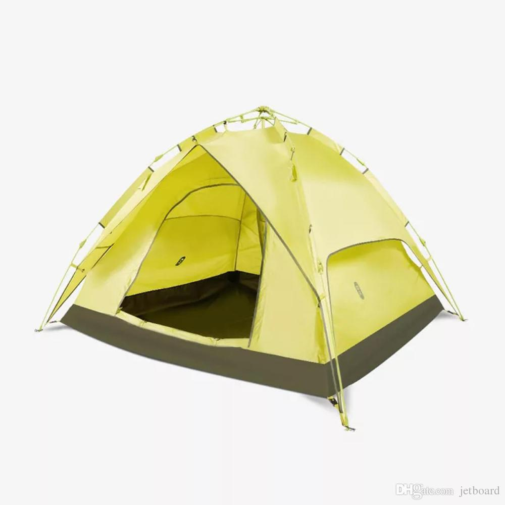 Xiaomi 2-4 People Full Automatic Tent Double Layers Waterproof Anti-UV Beach Sunshade UPF50+ Outdoor Camping sheleters