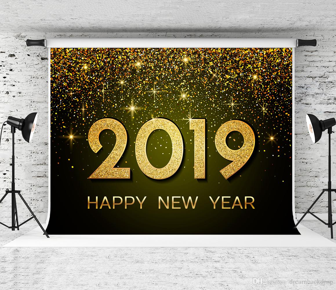 2019 Dream 7x5ft 2019 Happy New Years Eve Photography Backdrop