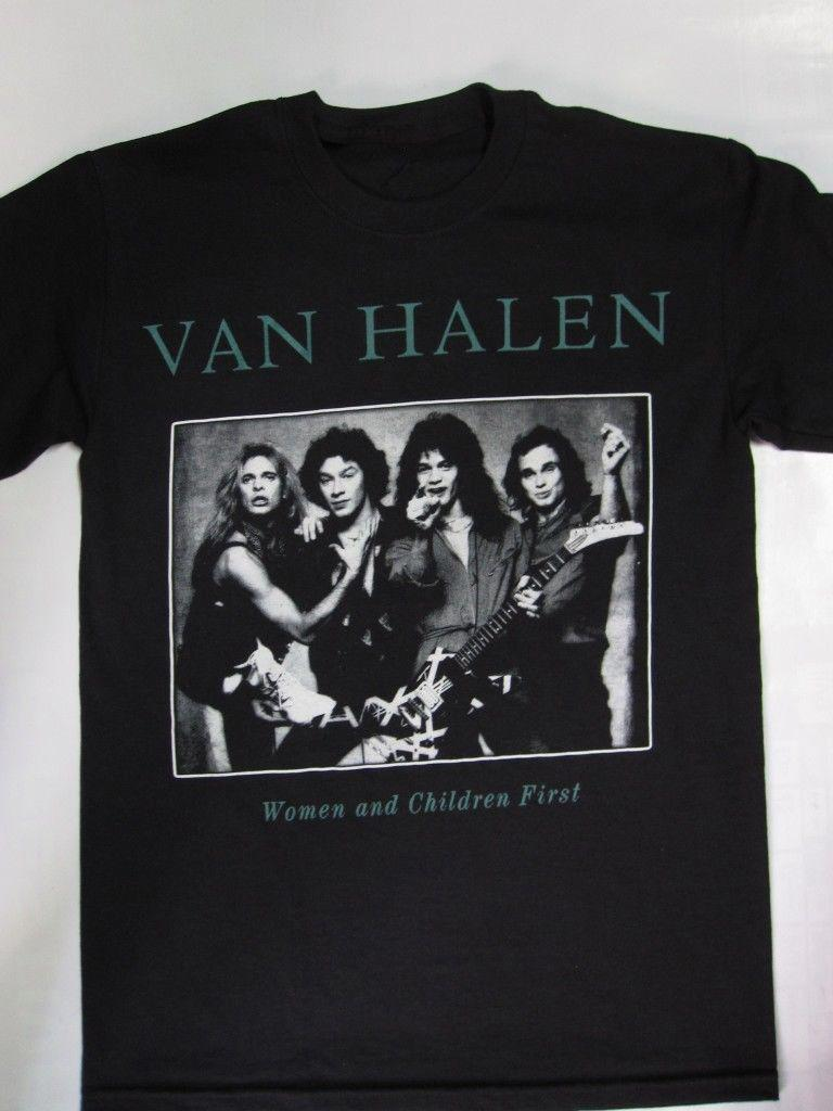 1df1e5f86db Van Halen - Women And Children First T-shirt Online with  13.15 Piece on  Beidhgate10 s Store