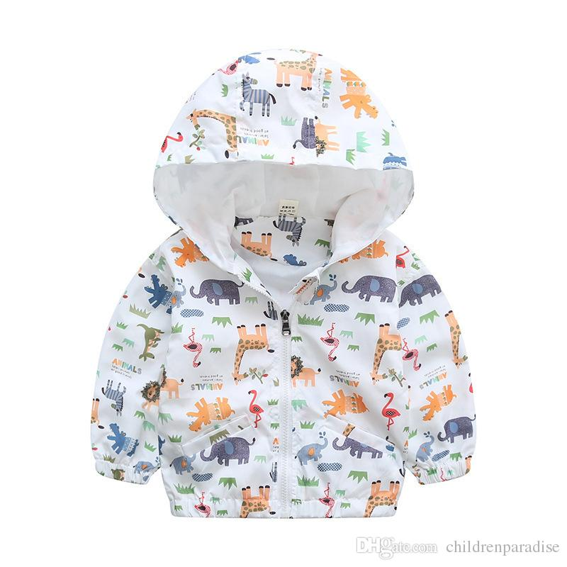 80-140cm camuflaje abrigo de primavera de Niños chaqueta con capucha para la capa de los muchachos muchachas de los cabritos del foso Traje con capucha cazadora Deporte
