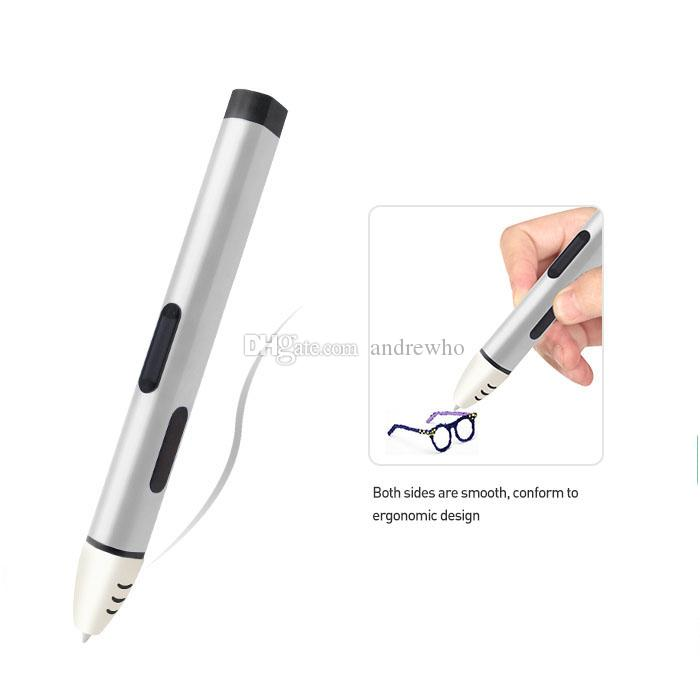 New arrival 5th Generation OLED Screen Low Temperature 1.75mm PCL 3D Print Pen Drawing Painting Pen For Child Christmas Gift