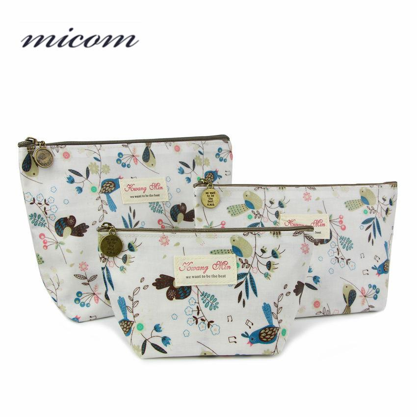 16247bfd6775 Micom Makeup Bag Cartoon Owl Cosmetic Bag Organizer Waterproof Portable  Travel Toiletry Kits Fashion Beauty Case UK 2019 From Wangbeiche