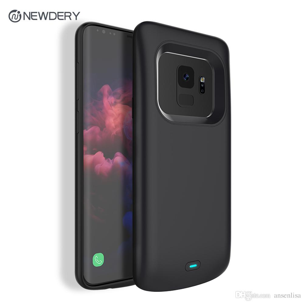 huge discount 10dd4 0ca31 2018 Newest 4700mAh Slim TPU Rechargeable Charging battery case for Samsung  S9 Power case for Galaxy S9 in stock