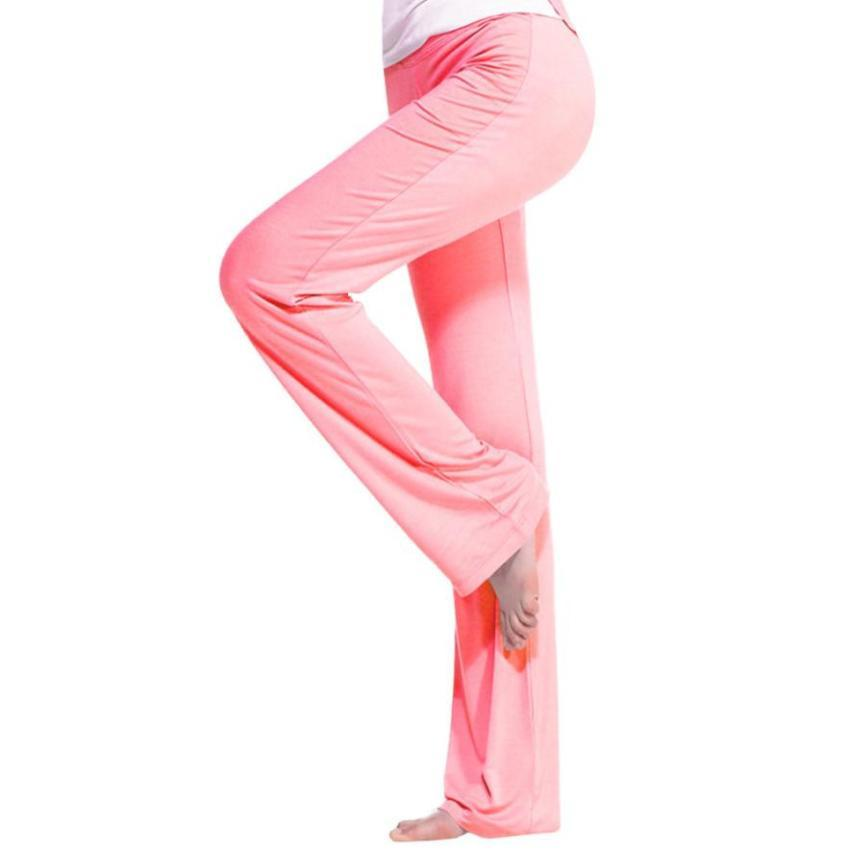 b3888c7634 Women s BootLeg Yoga Pant Running Fitness Clothes Modal Breathable ...