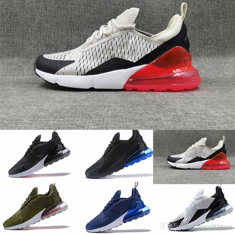 HOT 2018 High Quality Mens Flair Triple Black 270 Trainer Sports Running Shoes Womens 270 Sneakers Size EUR40-46 cheap price from china cheap sale enjoy clearance amazing price buy cheap ebay outlet footlocker knX8Oz74