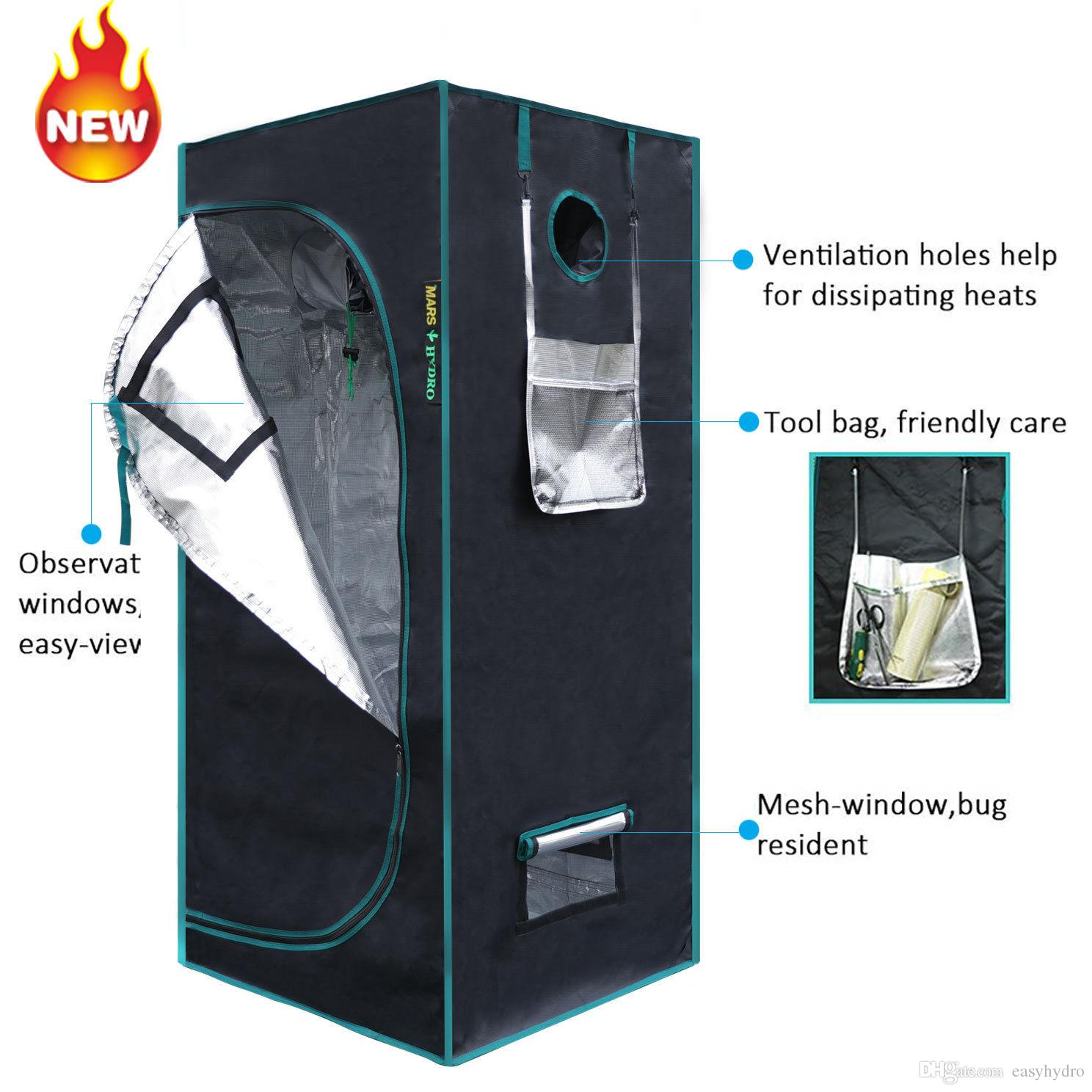 Marshydro 1680D 70*70*160cm Grow Tent Hydroponics L& Indoor Garden for Plant Grow House Stock in US/UK/GE/AU/CANADA Grow Tent Hydroponics L& Infoor ...  sc 1 st  DHgate.com : cheap grow tents uk - memphite.com