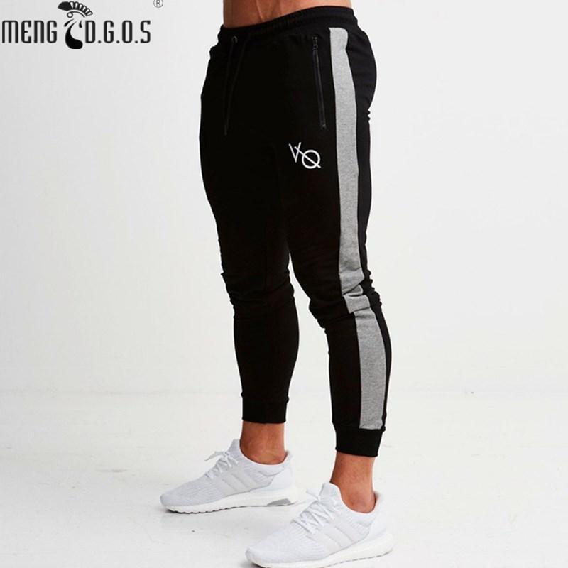 Compre Gimnasios De Verano Hombres De Marca Pantalones Pantalones Hombres  VO Pantalones Casuales Pantalones De Chándal 2018 Joggers Pantalones De  Fitness ... 6a170b8b2160