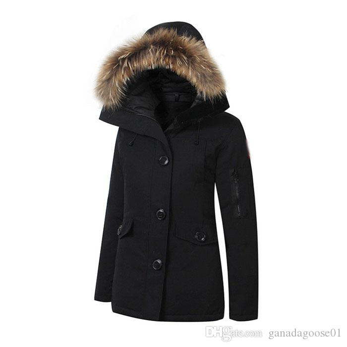 15451caf95a3b Women Trillium Femme Outdoors Fur Down Jacket Hiver Thick Warm Windproof  Goose Down Coat Thicken Fourrure Hooded Jacket Manteaus Doudoune 11  Outdoors Fur ...