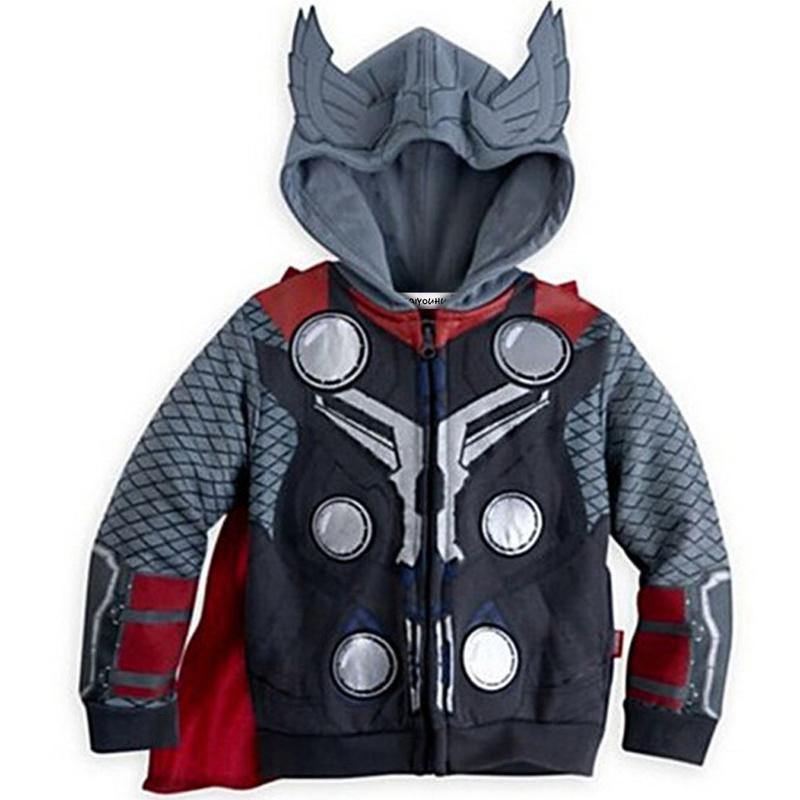KEAIYOUHUO 2017 Spring Jacket Autumn Boys Coat Jackets Fashion Boys Spiderman Coats For Children Jackets Outerwear Kids Clothes