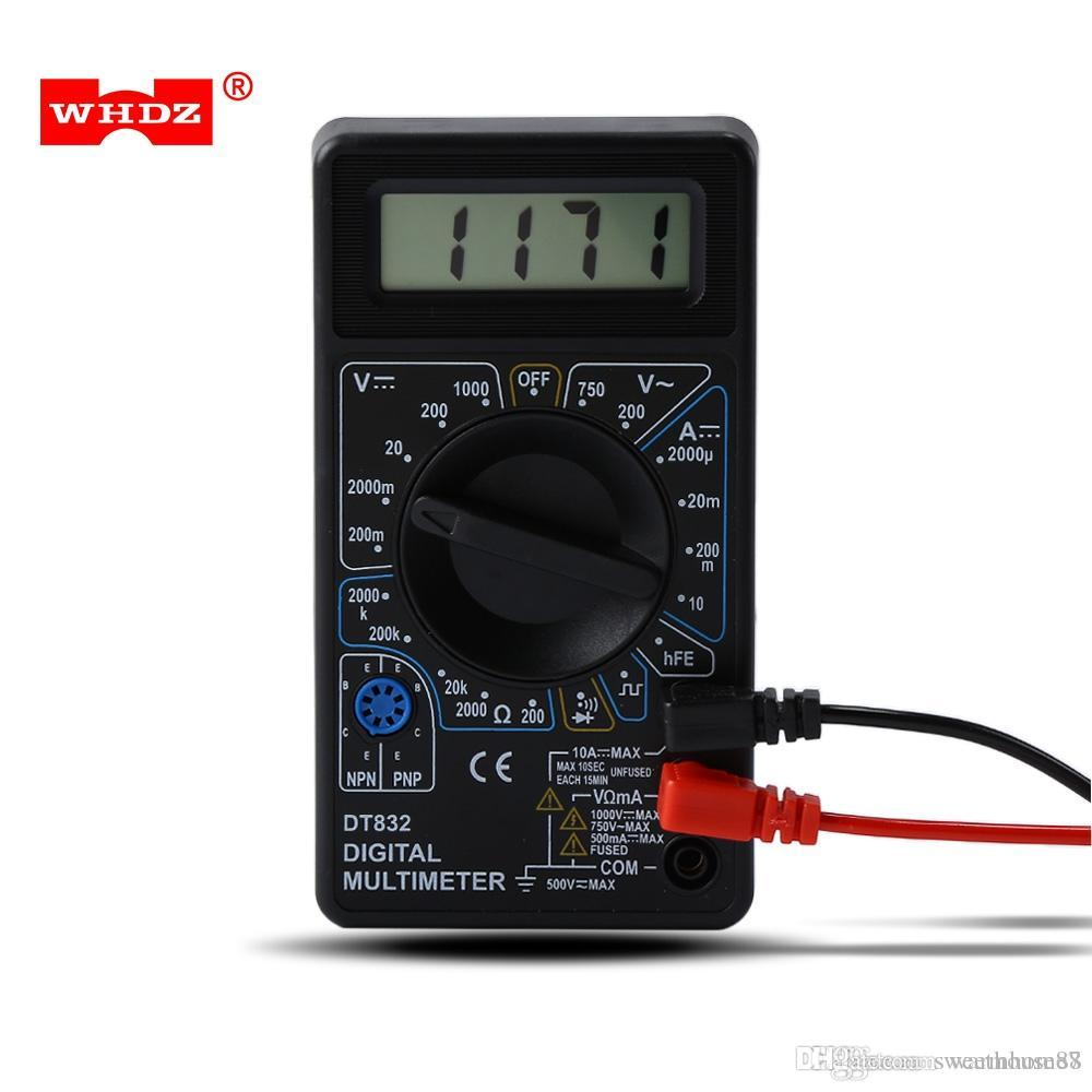 grohandel digital multimeter tester lcd mini multimeter ac dc
