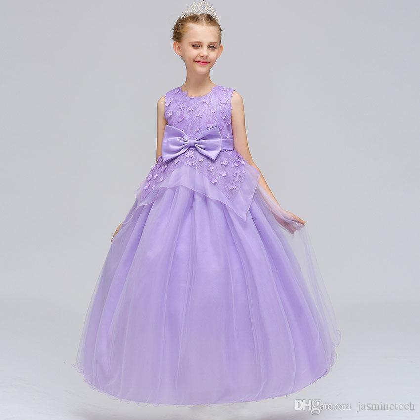 Großhandel Baby Mädchen Party Kleid Design Prinzessin Kleid Mesh ...