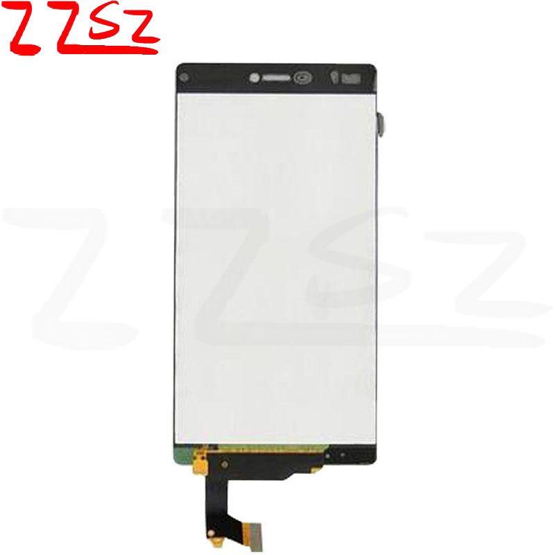 Sayısallaştırıcı Meclisi beyaz ve siyah serbest DHL ile OEM İyi Kalite İçin Huawei Ascend P8 LCD Ekran Dokunmatik Ekran