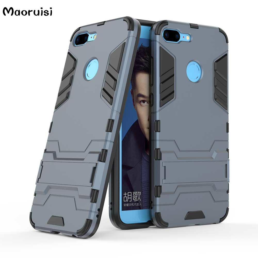 the latest 44d5c 5bc95 For Huawei Honor 9 Lite Case rugged Armor Silicone PC Back Cover For Huawei  Honor 9 Lite Phone Cases Shockproof Capa bags