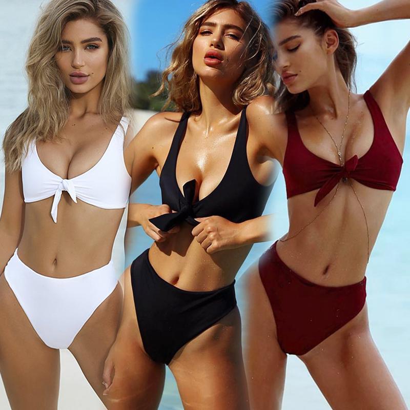 5176384dfc 2019 Sexy Brazilian Bikini Biquini Beach Wear Swimwear Women Swimsuit Maio  Moda Praia Biquinis Zaful Traje De Bano Mujer Tankini From  Romantic_clothes, ...
