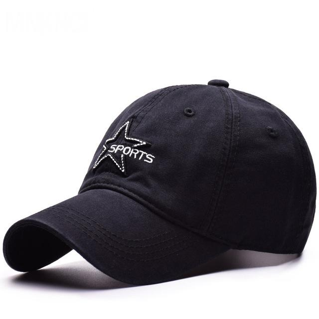 548ac942d75 High Quality Unisex 100% Cotton Outdoor Baseball Cap Pentagram ...