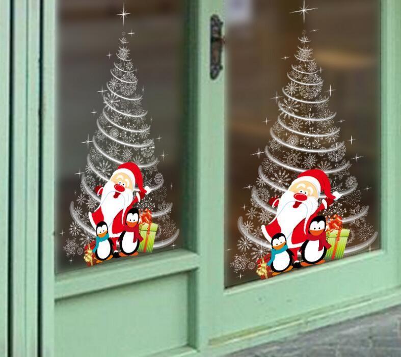 Office Christmas Party Ideas: Christmas Window Stickers Office Christmas Party Supplies