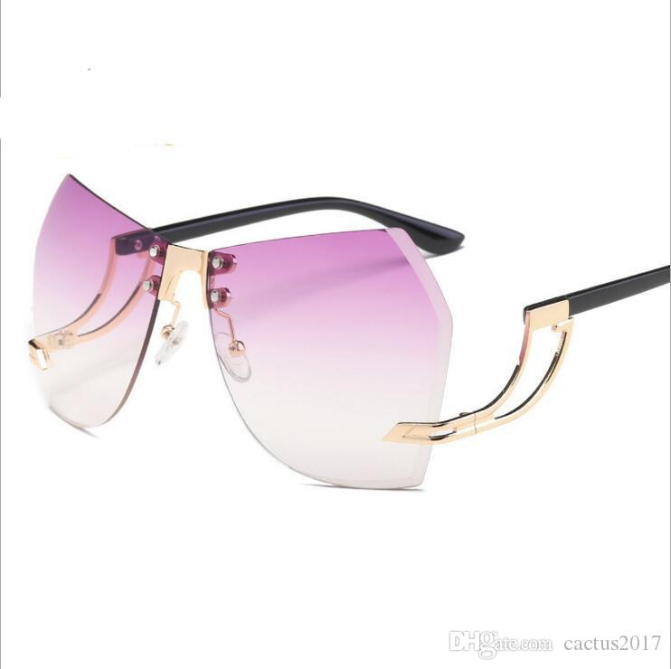Großhandel Sterne Trending Sonnenbrille Frauen Männer Mode Übergroße ...