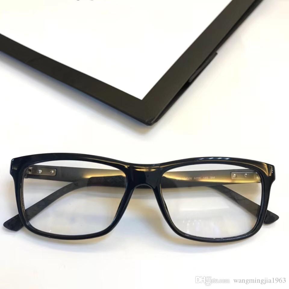 97a038de984e5 Compre Óculos De Armação Das Mulheres Dos Homens Designer De Marca Armações  De Óculos De Marca Designer De Óculos De Armação Clara Óculos De Lente  Quadro ...