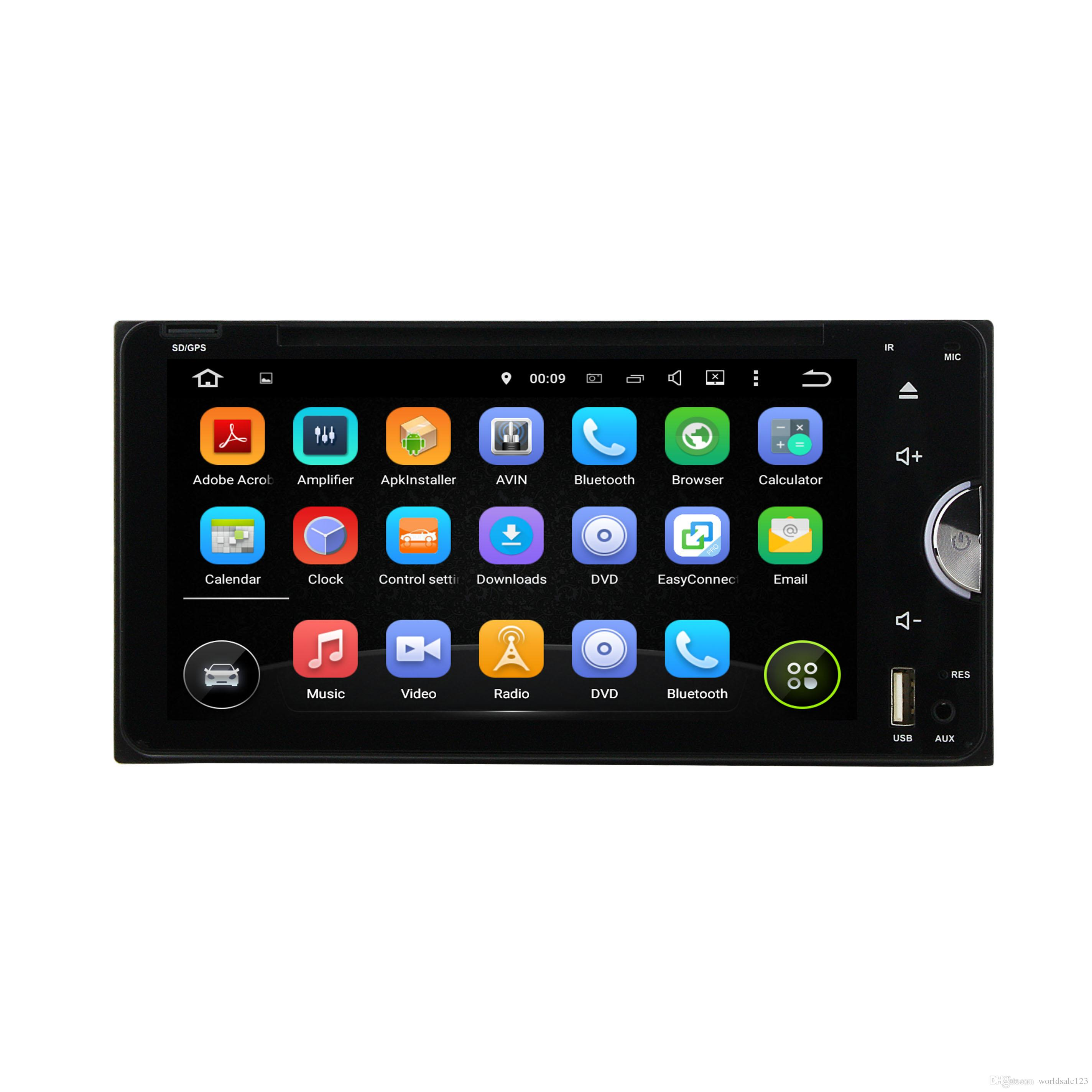 Android 7 1 Auto Radio GPS HDMI Car DVD Player 6 95 Inch For Toyota