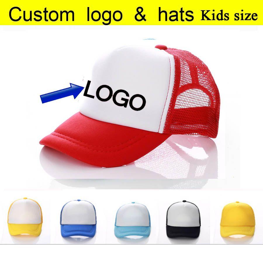 210de26971fcd Factory Wholesale Free Printing LOGO Kids Trucker Caps Candy Color Summer  Sun Hats Baseball Hat Summer Sports Mesh Cap Sports Mesh Cap Baseball Hat  Kids ...