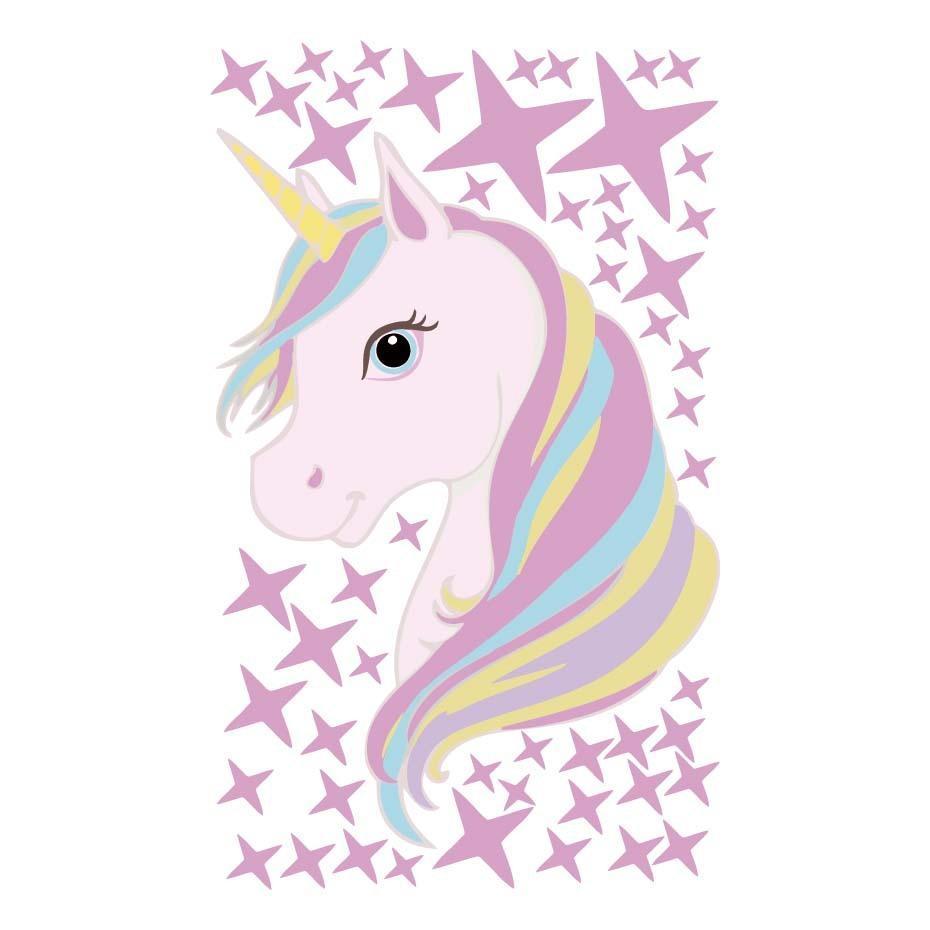 Rainbow Unicorn Stickers Creative New Wall Stickers