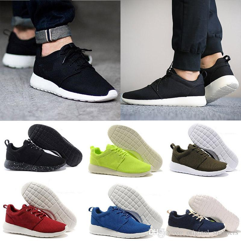 Wholesale high quality men London black running shoes new design 2018 grey outdoor sports sneakers fashion with box size 5-10 cheap footlocker finishline brand new unisex cheap price discount deals TSmgxF